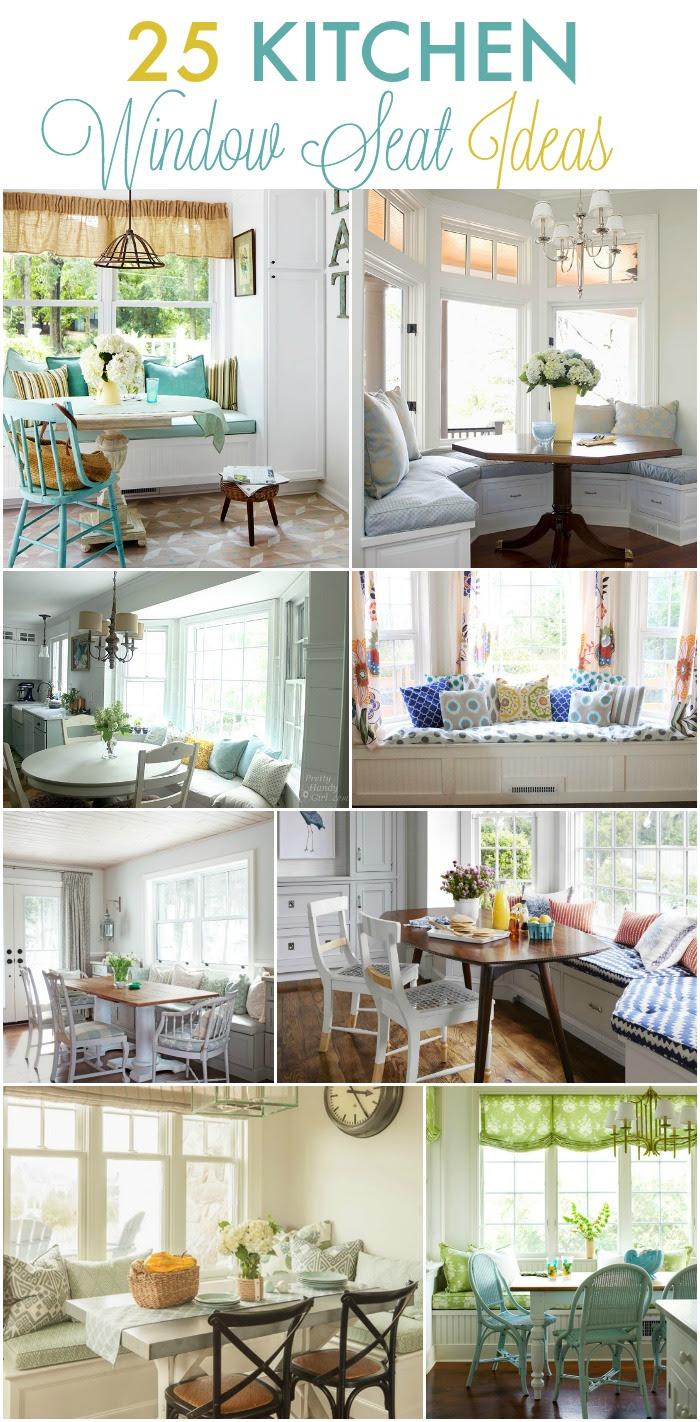 30 Kitchen Window Seat Ideas