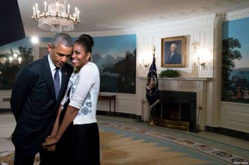 شاهد... صور غريبة لرئيس الامريكي باراك أوباما