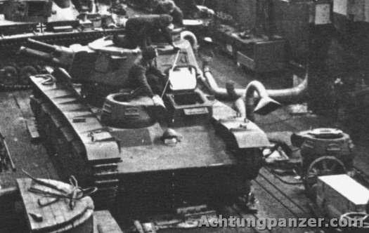 PzKpfw NbFz V (Rheinmetall) on the production line.