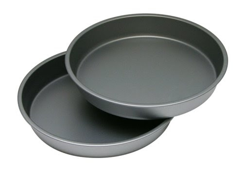 OvenStuff Non-Stick 9 Inch Round Cake Pan Two Piece Set