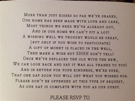 """Cute way to say """"no gifts please"""" :)   My parents 50th"""