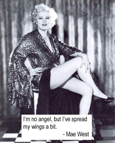Mae West Quotes Im No Angel Top Ten Quotes
