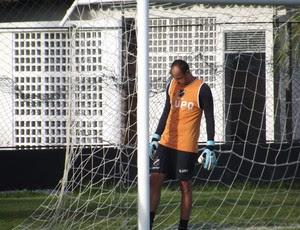 Lopes, goleiro do ABC (Foto: Tiago Menezes)