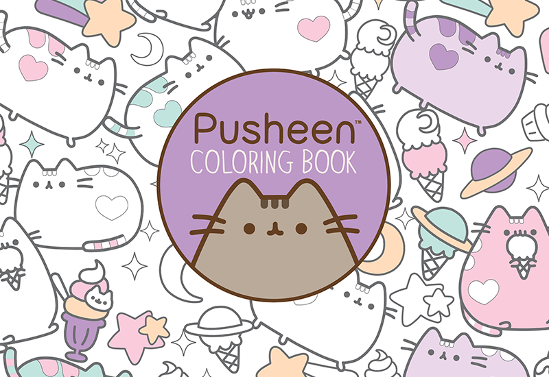 - Pusheen Cat Coloring Pages Coloringnori - Coloring Pages For Kids