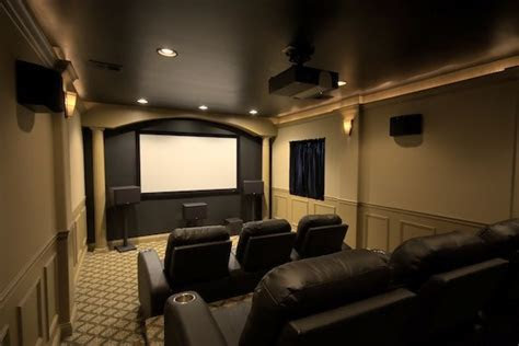 home theatre ideas  love  dark  chairs
