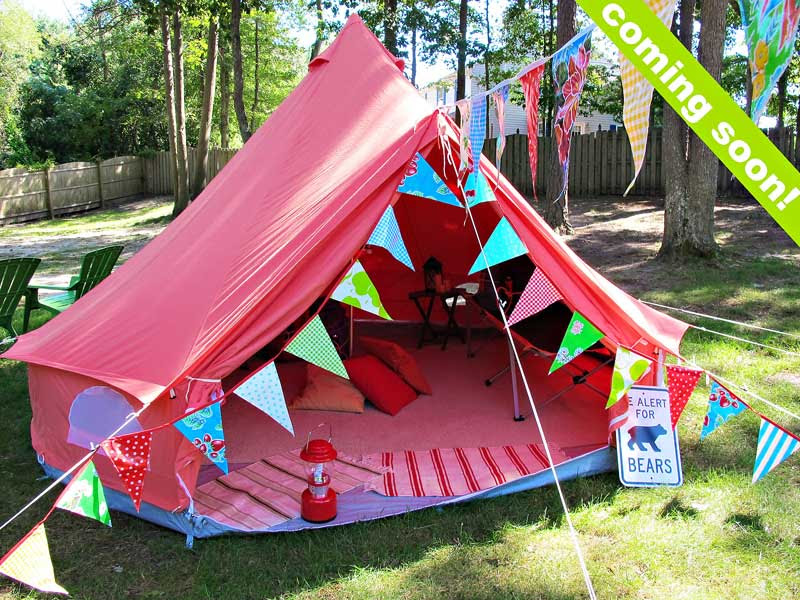Backyard Camping Birthday Party Tips From Town