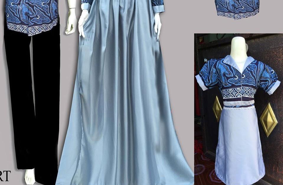 Gambar Baju Gamis Modern Warna Hitam Hijab Nemo