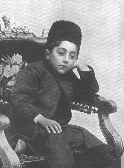 Ahmad Qajar perzsa sah 1909-ben