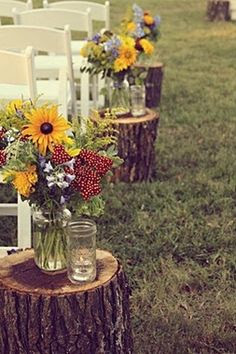 Country Style Weddings on Pinterest