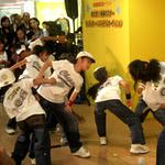 迫力のダンス