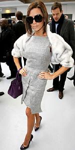 Victoria Beckham wearing Christian Louboutin