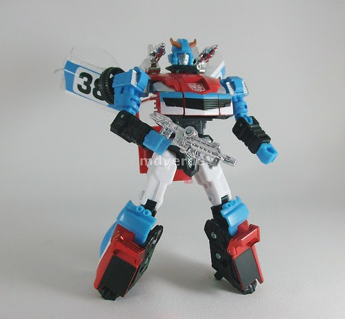 Transformers Smokescreen Classics Henkei - modo robot