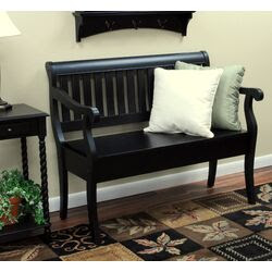 2 Day Vermont Foyer Wooden Storage Bench | Wayfair