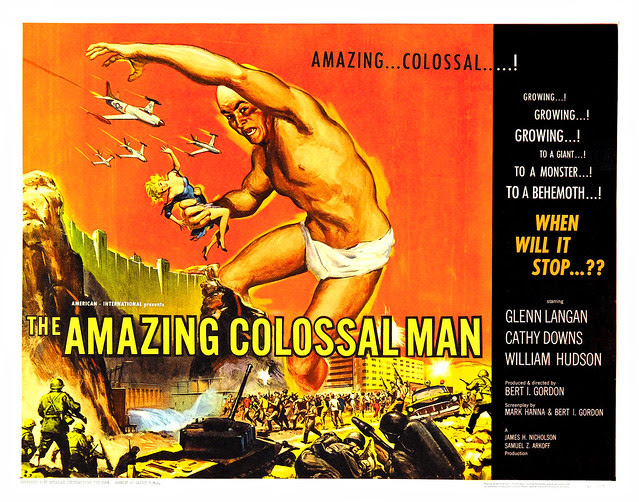 Albert Kallis - The Amazing Colossal Man (AIP, 1957) Half Sheet