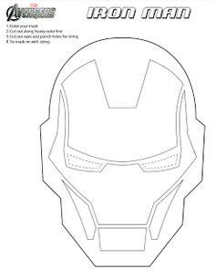Iron man on Pinterest | Iron Man, Invitations and Masks