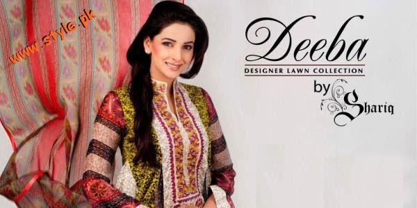 Latest Lawn Collection 2012 By Shariq Textiles 004