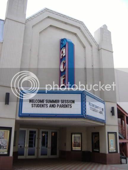 The movie theatre