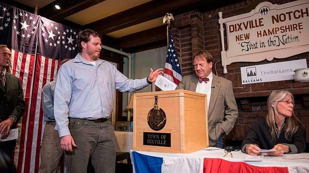 Una aldea de New Hampshire, la primera en votar en las elecciones más duras de la Historia