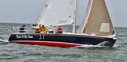 J/105 sailing to Nantucket
