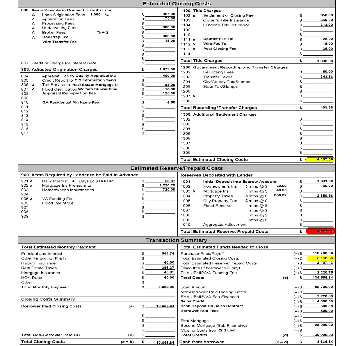 62566d1273360151 my itemized free worksheet not adding itemized fee worksheet1