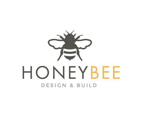 bold playful business logo design  honeybee