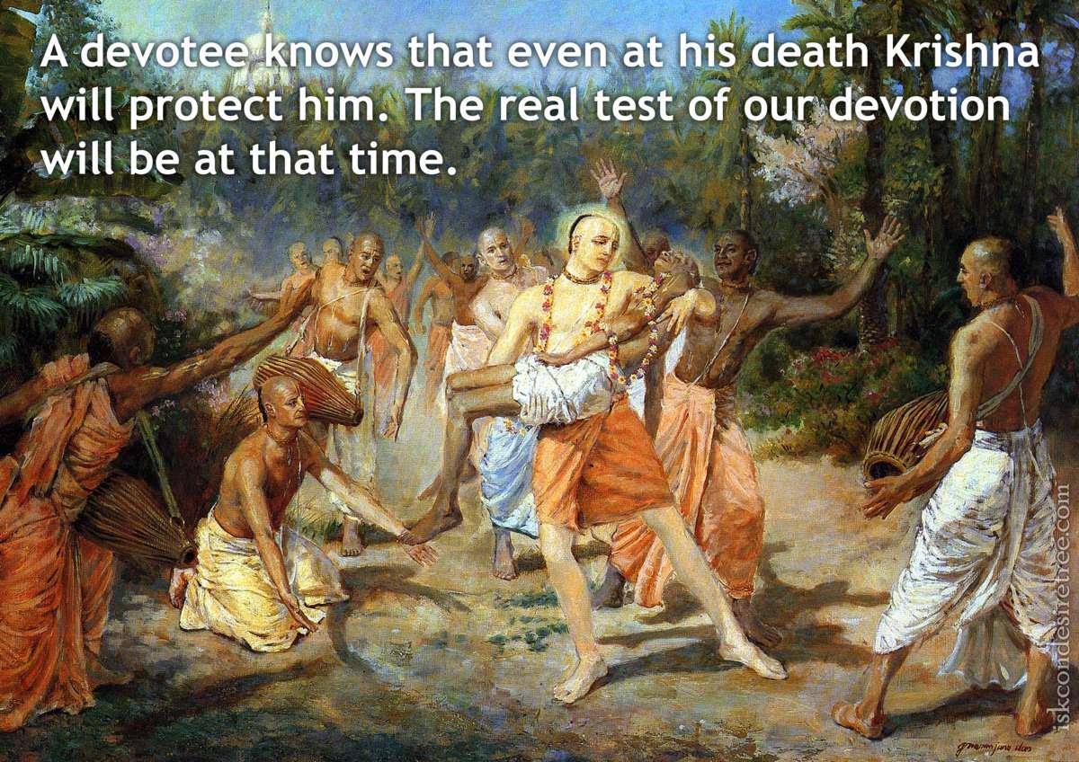 Death Spiritual Quotes By Iskcon Desire Tree