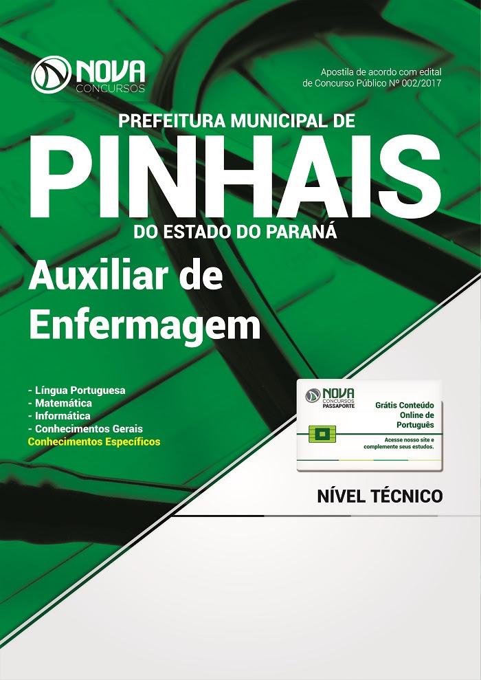 Apostila Prefeitura de Pinhais  Auxiliar de Enfermagem