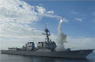 Cruise missiles being launched in the Mediterranean against the North African state of Libya. There have been thousands killed and many more injured by the U.S. and European military bombings. by Pan-African News Wire File Photos