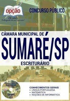 Apostila Câmara de Sumaré Ajudante administrativo,