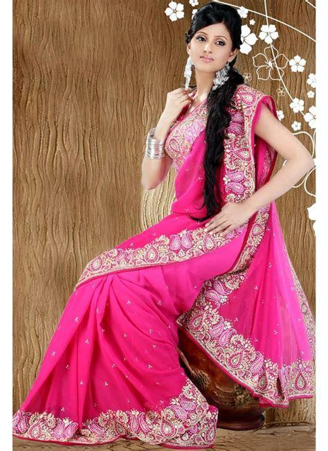 Latest Saree Designs   Wedding Party Wear Saree's   Indian