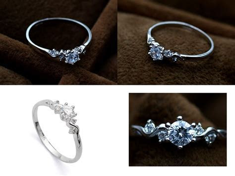 Beautiful Promise ring I have one just like this but its