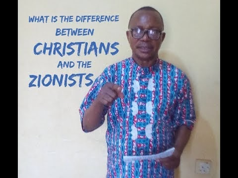 What Is The Difference Between Christians and the Zionists?