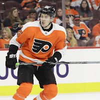 e912a0007 James van Riemsdyk is in for Flyers  Nico Hischier out for Devils