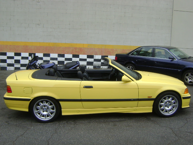 Convertible M3 1999 Dakar Yellow
