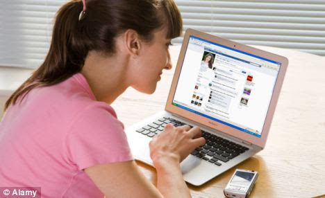 Popular: The more friends you have on Facebook, the more likely you are to feel stressed, a study has found