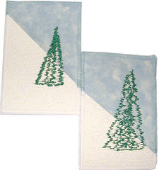 Two holiday cards
