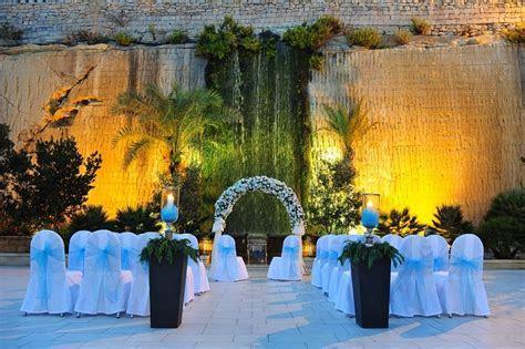 Historic Wedding Venues in Malta; Malta Wedding Venues