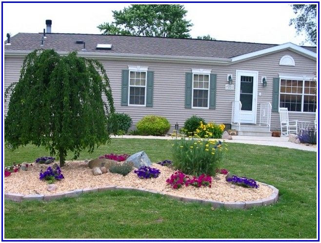 Small Mobile Home Landscaping Ideas Get Home Inteiror House