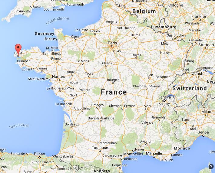 Resultado de imagen de brest mapa