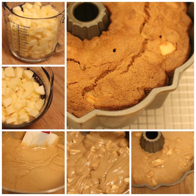 Moosewood Fresh Apple Spice Bundt Cake