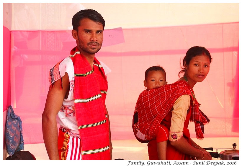 Family, Guwahati, Assam - Images by Sunil Deepak
