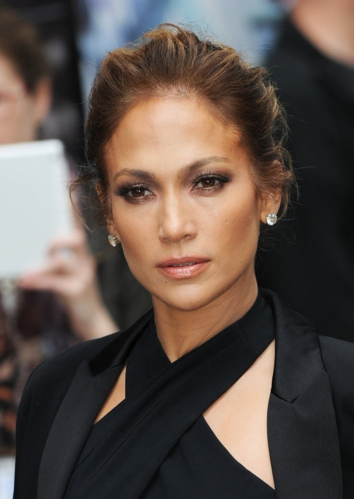 Jennifer Lopez Visits 'The Late Show with David Letterman'