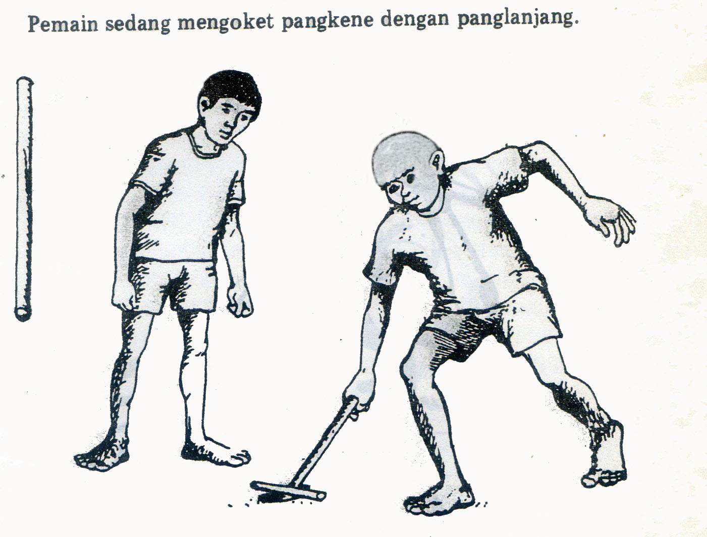 Penteng Permainan Rakyat Madura Jawa Timur Pusaka Jawatimuran