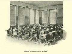 Class Room - Fourth Grade, Butte, Montana. (1905)