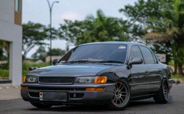 Galeri Foto Modifikasi Mobil Sedan Toyota Corolla DX ...