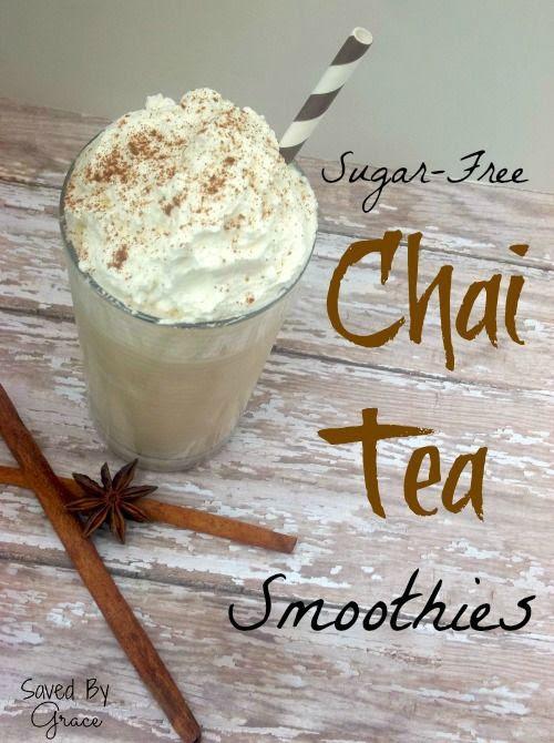 Sugar Free Chai Tea Smoothies