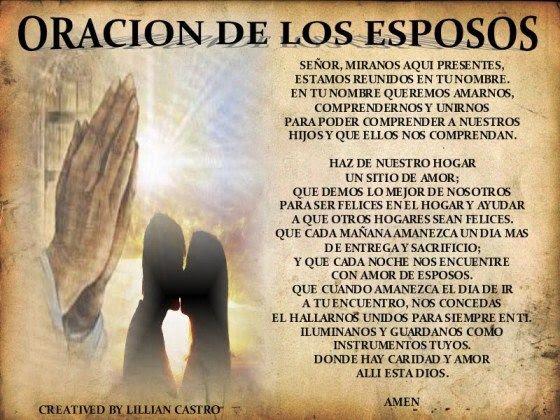 Postales De Bodas Oracion De Los Esposos Imagenes Gratis