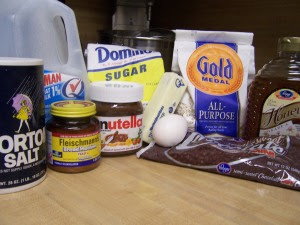 Nutella Roll Ingredients