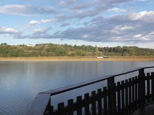 Le lac de Brousseau (Landes)