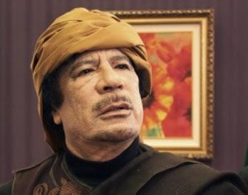 Khadafi activou uma série de missões diplomáticas